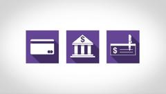 Iconos descriptivos sobre formas de hacer donaciones