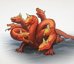 The seven-headed dragon