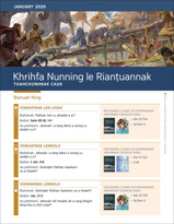 2020, January Khrihfa Nunning le Rianṭuannak—Tuahchunhnak Cauk