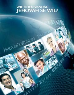 Die voorblad van die brosjure 'Wie doen vandag Jehovah se wil?'