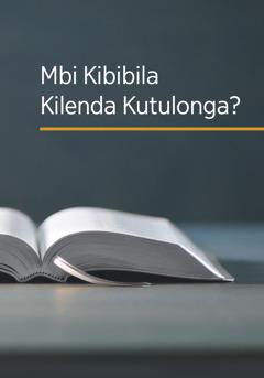 Busu bu buku 'Mbi Kibibila Kilenda Kutulonga?'
