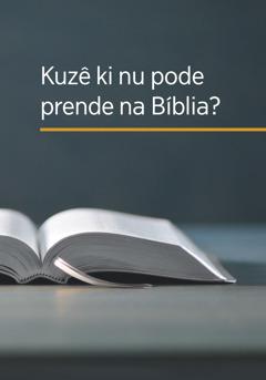 Kapa di livru 'Kuzê ki nu pode prende na Bíblia?'.