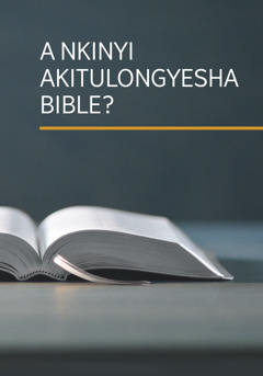 Kipusu kya mukanda wa 'A Nkinyi akitulongyesha bible?'