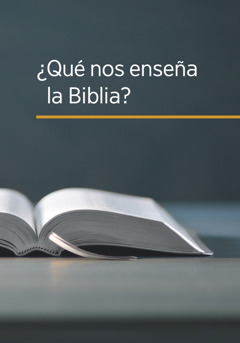 """Portada del libro """"¿Qué nos enseña la Biblia?"""""""