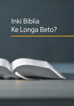 Lutiti ya zulu ya mukanda 'Inki Biblia Ke Longa Beto?'