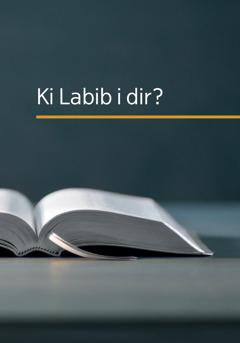 Lo kouvertir liv 'Ki Labib i dir?'