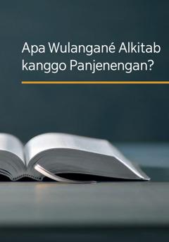 Buku 'Apa Wulangané Alkitab kanggo Panjenengan?'