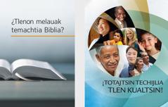Libro ¿Tlenon melauak temachtia Biblia? niman amatlajkuilojli ¡ToTajtsin techijlia tlen kualtsin!
