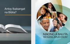 Say libron 'Antoy Ibabangat na Biblia?' Say brosyur ya 'Maong a Balita ya Nanlapud Dios!'