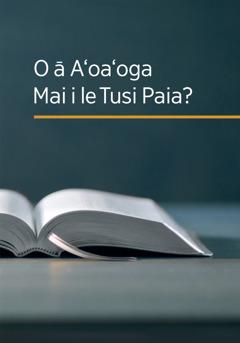 O le tusi ʻO ā Aʻoaʻoga Mai le Tusi Paia?'