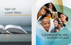 Libru Xipe' ndi' cusiidi' Biblia ne folletu Ca diidxa' sicarú ni zeeda de Dios