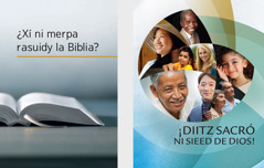 Libro ni laa, ¿Xí rasuidy la Biblia lóono? né follet, ¡Diitz sacró ni sieed de Dios!