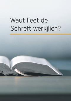 """Daut Buak """"Waut lieet de Schreft werkjlich?"""""""