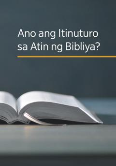 Ang aklat na 'Ano ang Itinuturo sa Atin ng Bibliya?'