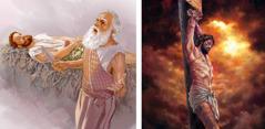 Pipi imaazã: A Abrahaam sẽn zãad sʋʋga, n zẽk a neng n get saasã. A Izaak b sẽn gãneg tẽn-kugr zugu, n sẽb a nusã ne a karsã. Imaaz a yiib-n-soabã: A Zeezi b sẽn ka kũum ra-lukã zugu.