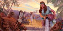 Rebeka wɛɛ ɛpɩyɩɣ lɩm kpɩna lɩm ɖɩñɔyɛ taa se pɩsa nɛ aɖaaɖaanaa pɩzɩ pɔñɔɔ. Abraham lɩmɖʋyʋ sɩŋ poliŋ taa nɛ ɛwɛɛ ɛcɔŋnɩ-ɩ.