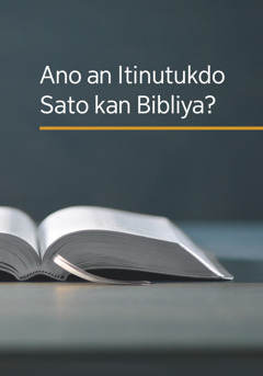 An librong 'Ano an Itinutukdo Sato kan Bibliya?'
