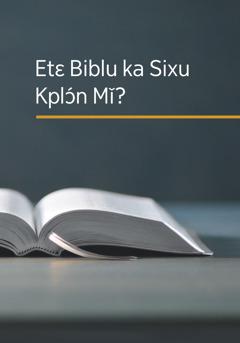 Wema 'Etɛ Biblu ka Sixu Kplɔ́n Mǐ?'