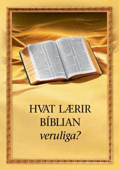 Bókin 'Hvat lærir Bíblian veruliga?'