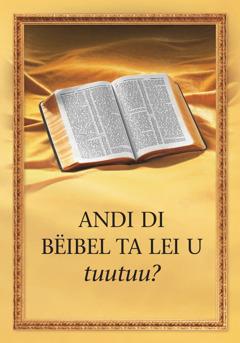 Di buku 'Andi bi Bëibel ta lei u tuutuu?'