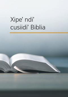 Libru: Xipe' ndi' cusiidi' Biblia