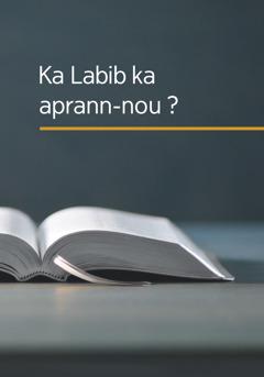 Liv-la «Ka Labib ka aprann-nou?»