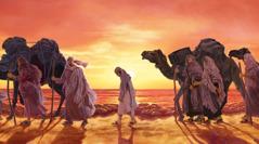 Josẹf vẹ ihwo ri Midia kugbe ẹkẹtẹkẹtẹ rayen yan kpo Ijipt.
