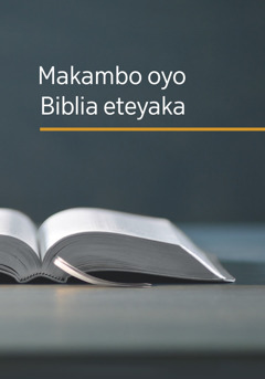 Buku 'Makambo oyo Biblia eteyaka'