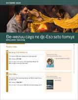 Ðe-wezuu caɣʋ nɛ ɖɛ-Ɛsɔ sɛtʋ tʋmɩyɛ—Kpɛlɩkʋʋ Takayaɣ, Octobre 2020.