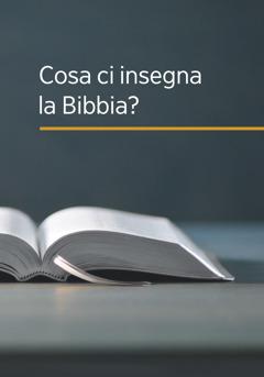 """Il libro """"Cosa ci insegna la Bibbia?"""""""