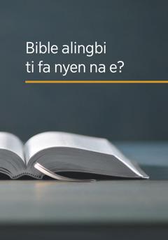 Buku 'Bible alingbi ti fa nyen na e?'