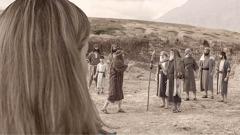 Ifoto ro nẹ ividio na 'Sẹrorẹ Atamwu Rhẹ Ọsoso Ọmuduo.' Gabriella rọ ha ẹhẹn roro kpahen ikuegbe i Korah rọ kparehaso i Jehova.