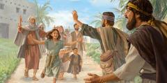 Malikeliket iray aripen ya Israelita ya pinmawil ed abung da tan nanengneng lamet iray kapamilya da diad taon na Jubileo.