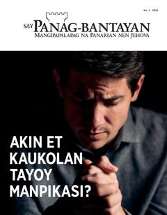 'Say Panag-bantayan' No.1 2021.