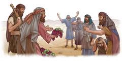 Joshua naKarebhi vachiratidza vamwe vasori zisumbu remazambiringa.