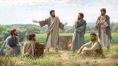 Jesús tlajtlajtoua iuan seki inomachtijkauan nisiuj kampa kitokaj cebada.