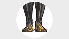 Këmbët prej hekuri dhe argjile.