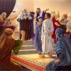 Ayhuda haymaanootiyaa kaalettiyaagee Yesuusawu qinxxalliyan baqqiyo wode Sanhedirine shilootaa daannati xeelloosona. Sanhedirine shilootaa daannatuppe amaridaageeti bantta kushiyaa cuccumidi Yesuusa bolli malaatiiddi hanqqettidi A bolli waassoosona.