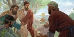 Jesus etịn̄ idiọn̄ọ mme akpatre usen ọnọ mme apostle esie.