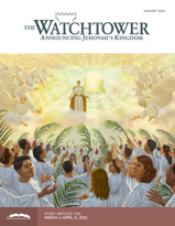 The Watchtower Study Edition, January 2021.