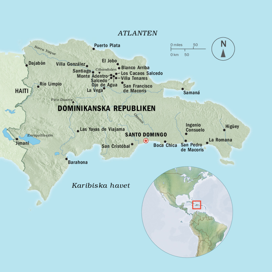 dominikanska republiken karta Presentation av Dominikanska republiken | Årsboken 2015 dominikanska republiken karta