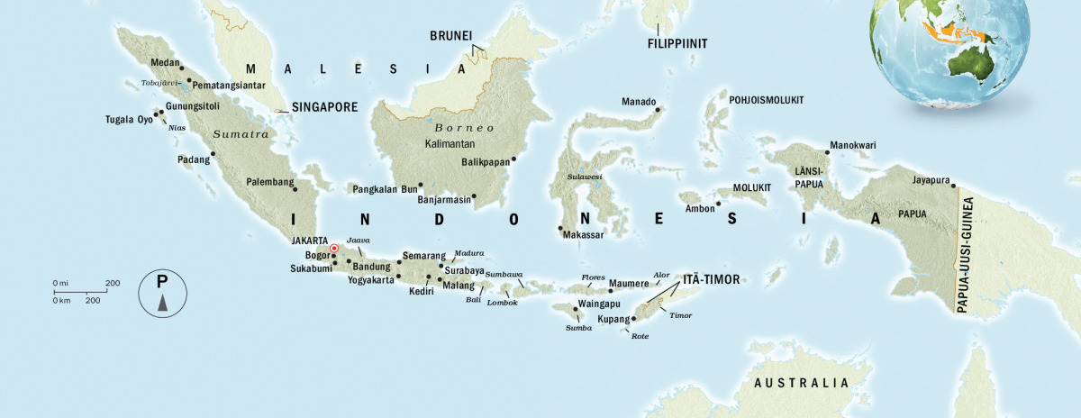 Indonesia Lyhyesti Uskonnot Maa Vaesto