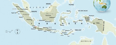 Map Indoneshia