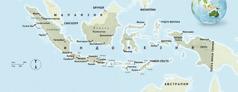 Индонезиянын картасы