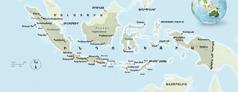 Ինդոնեզիայի քարտեզը
