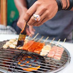 肉の串焼き