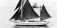 The 52-foot ketch Lightbearer