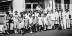 Surabayan seurakunta vuonna 1954