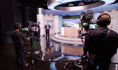 JW Broadcasting-studiet i Brooklyn, New York
