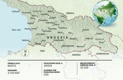 Gruusia kaart